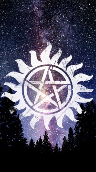 Supernatural Anti Possession Symbol Greeting Card For Sale By Lexi