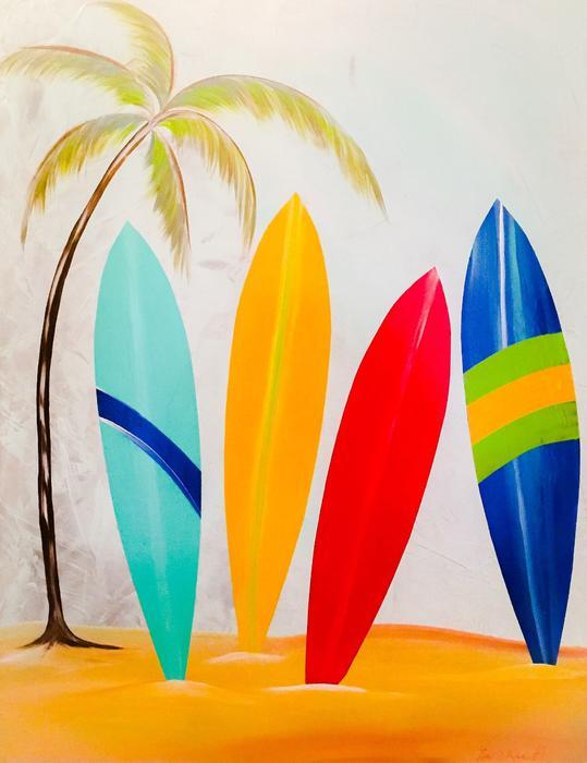 Barry Knauff - Surfboards II
