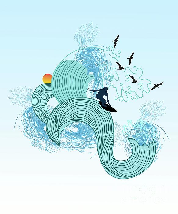 Taslima Akter - Surfing