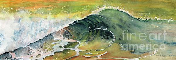 Melly Terpening - Surfing Watercolor Art