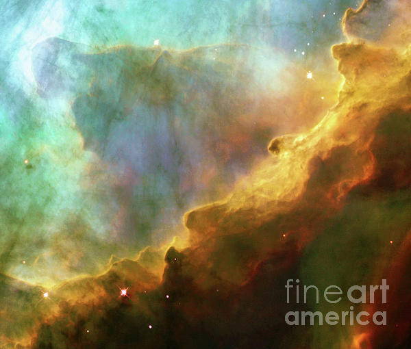 Tina Lavoie - Swan Nebula, M17, birthplace of stars, space, astronomy, science