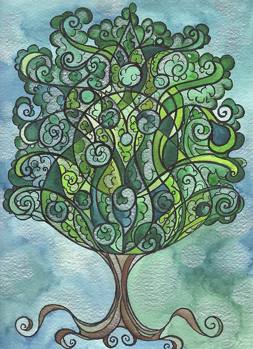 Michell Rosenthal - Swirly Tree