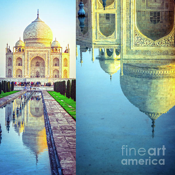 Neha Gupta - Taj Mahal - Collage