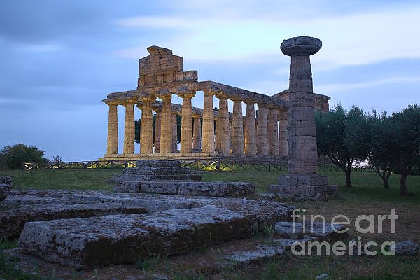 Pat Dego - Temple of Athena. Paestum.