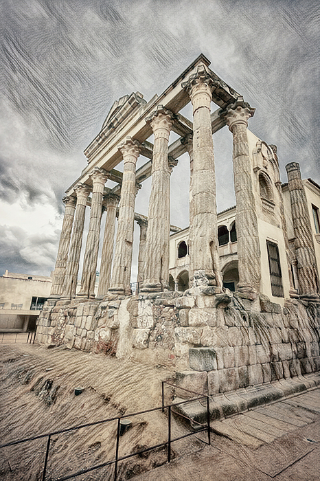 Joan Carroll - Temple of Diana Merida Spain II