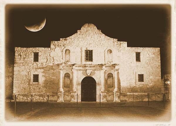 Carol Groenen - The Alamo Greeting Card