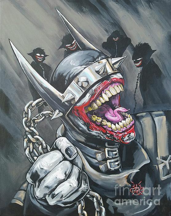 The Batman Who Laughs Iphone X Case