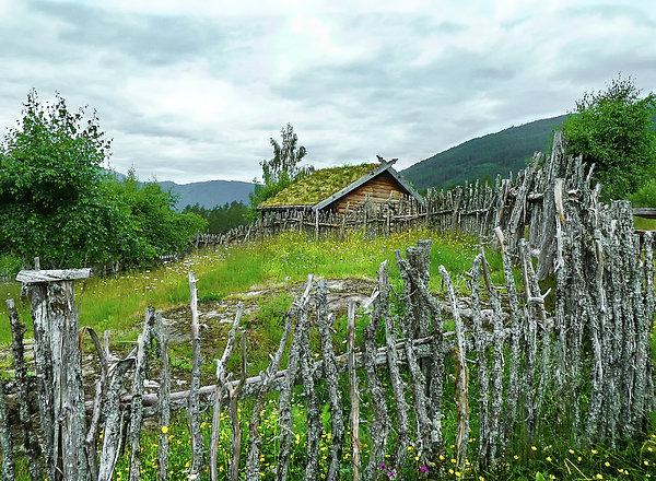 Norma Brandsberg - The Crooked Norwegian  Fence