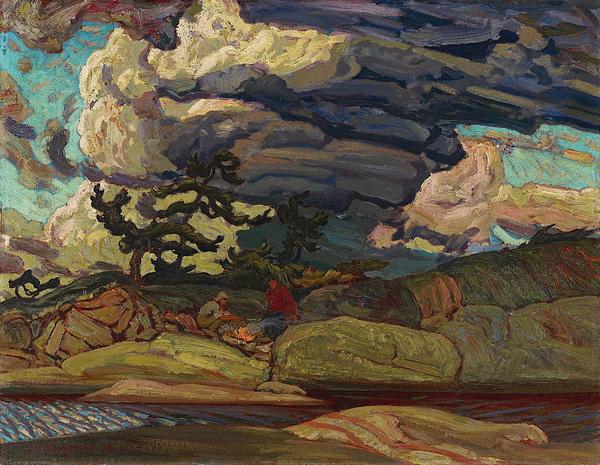 James Edward Hervey Macdonald - The Elements1916
