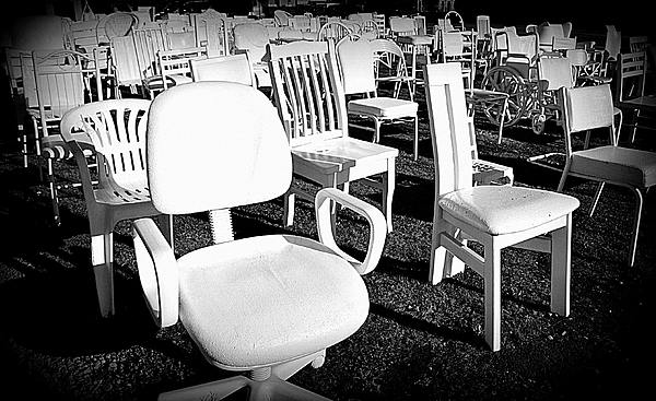Toni Abdnour - The Empty White Chairs