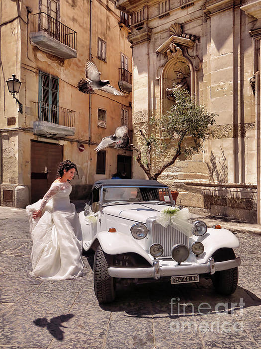 Jennie Breeze - The Runaway Bride.Taranto. Italy