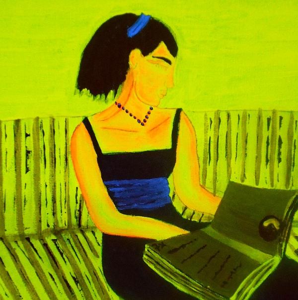 Tania Stefania Katzouraki - The Girl and The Book III