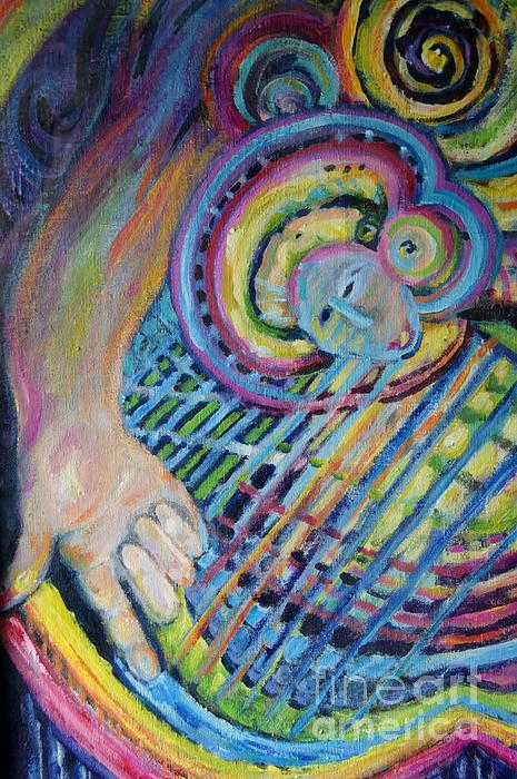 Susan Brown    Slizys art signature name - The hand of the Rainbow