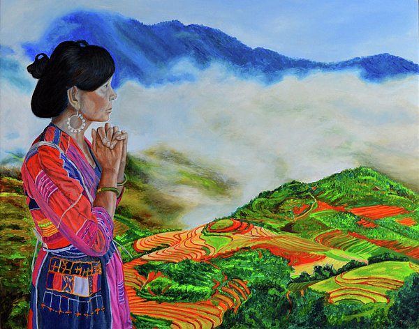 Thu Nguyen: Artist Website Miao People Art