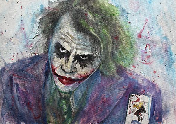 Anna Marinova - The Joker, Heath Ledger As The Joker