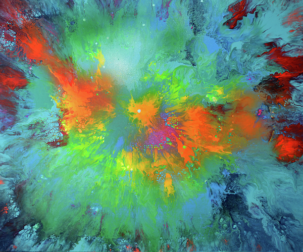 Tiberiu Soos - The Journey - Abstract Modern Fluid Art