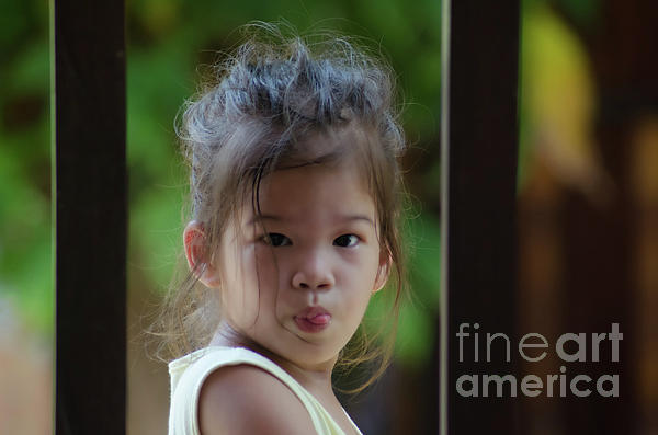 Michelle Meenawong - The Little Girl With A Sharp Tongue