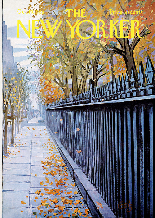 New Yorker October 19, 1968 by Arthur Getz