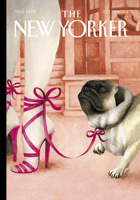 The New Yorker Cover - September 27th, 2004 by Ana Juan