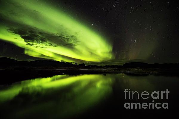 Gunnar Orn Arnason - The Northern Lights Thingvellir
