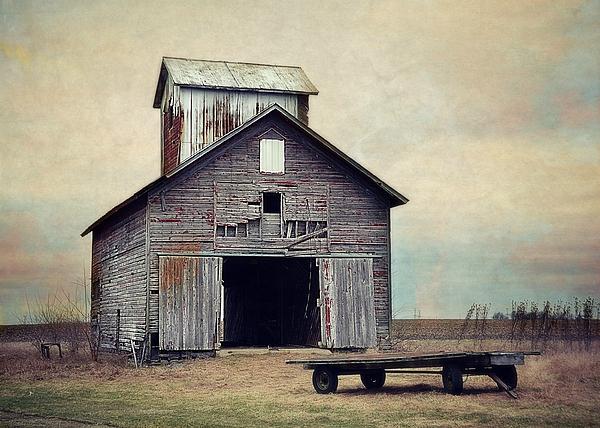 Toni Abdnour - The Old Corn Crib And Wagon