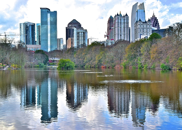 Frozen in Time Fine Art Photography - The Piedmont Park View