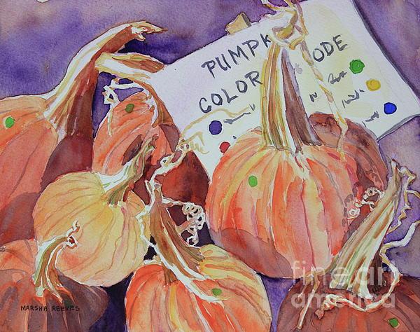 Marsha Reeves - The Pumpkin Code