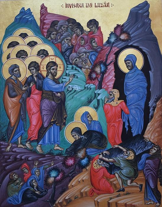 Lembrau Iulian - The resurrection of Lazarus