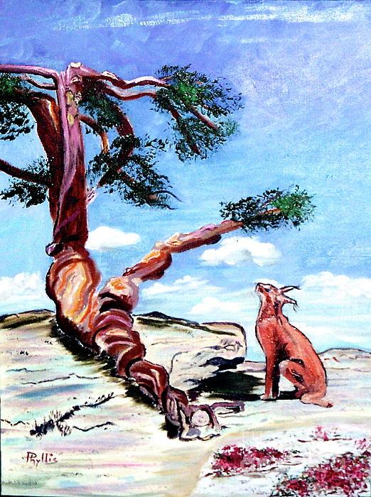 Phyllis Kaltenbach - The Tree and the Bobcat
