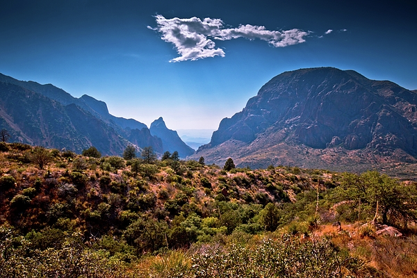 Linda Unger - The Window in the Chisos Mountains