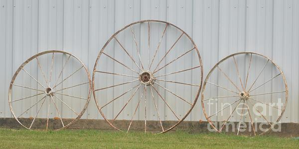 James G - Three Farm Wheels