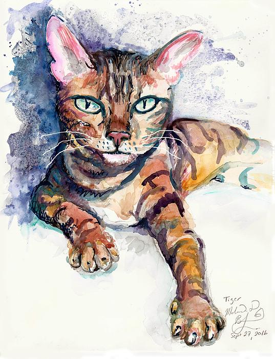 Melinda Dare Benfield - Tiger