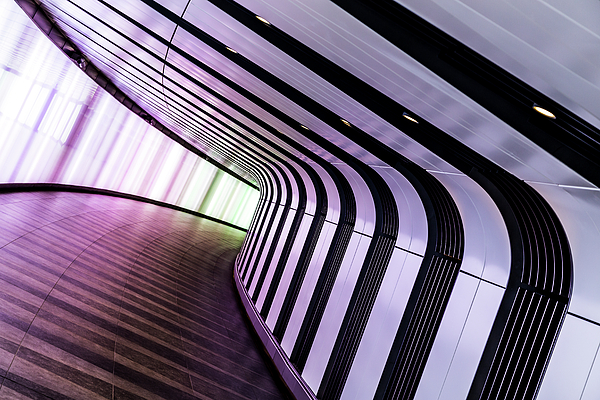 Jason Wells - Titled tunnel at Kings Cross