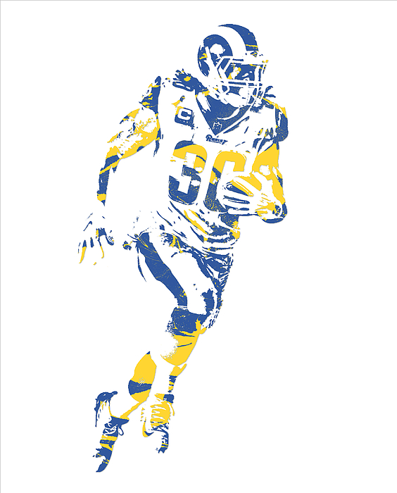 Todd Gurley Los Angeles Rams Pixel Art 30 Iphone X Case