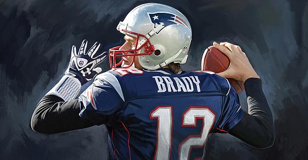 Sheraz A - Tom Brady Artwork