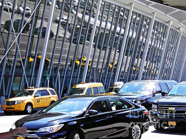 Sarah Loft - Traffic at Kennedy Airport