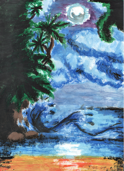 Marta Kazmierska - Tropical Painting