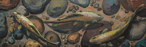 Kimberly Benedict - Trout River Rock Three