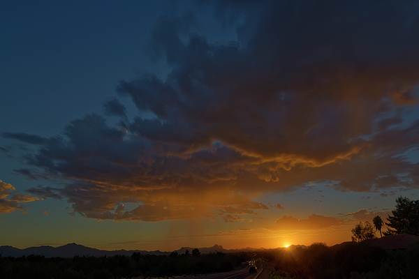 Tucson Sunset H12 Photograph