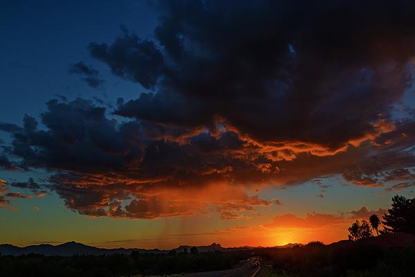 Tucson Sunset H59 Photograph