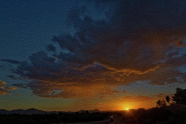 Tucson Sunset Op14 Photograph