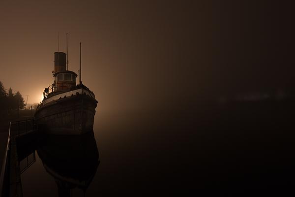 Jakub Sisak - Tug Boat in Fog