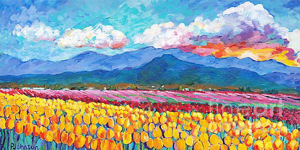 Peggy Johnson - Tulip Sunrise