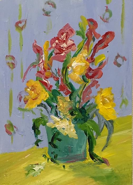 Alida M Haslett -  Tulips