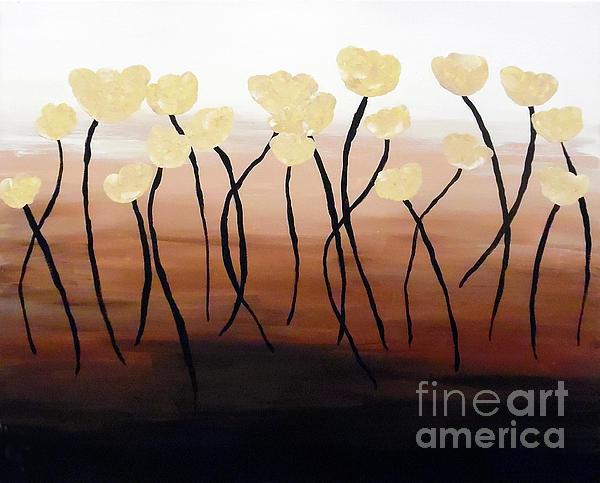 Jilian Cramb - AMothersFineArt - Tulips of Gold