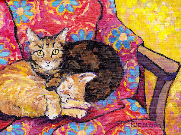 Peggy Johnson - Two Cat Nap