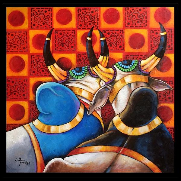 Sonali Mohanty - Two friends - Bulls