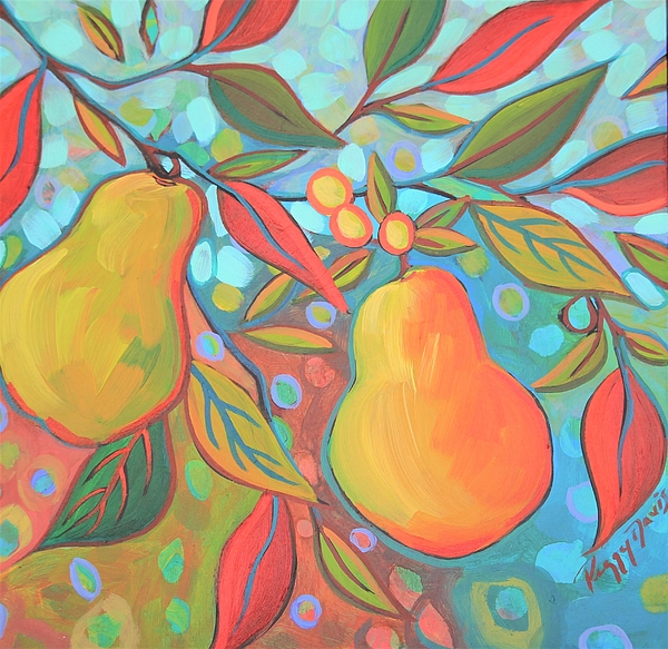 Peggy Davis - Two Pears