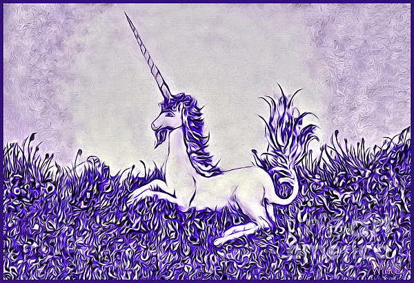 Lise Winne - Unicorn in Purple