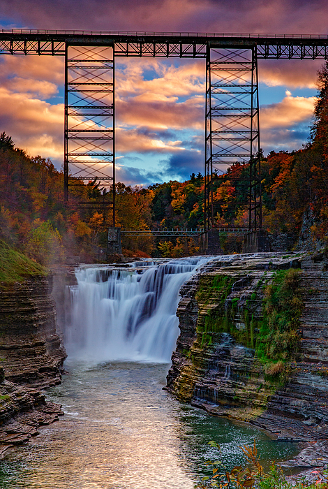 Rick Berk - Upper Falls Letchworth State Park